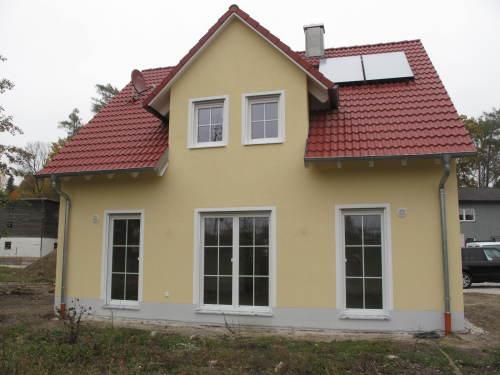 Zum Monatsende wurden noch weitere Häuser fertiggestellt