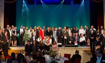 4. Town & Country Stiftungspreis am 25.11.2016 in Erfurt verliehen. 364.000 Euro gehen insgesamt an soziale Projekte in ganz Deutschland.