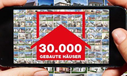 """""""30.000 gebaute Häuser"""""""