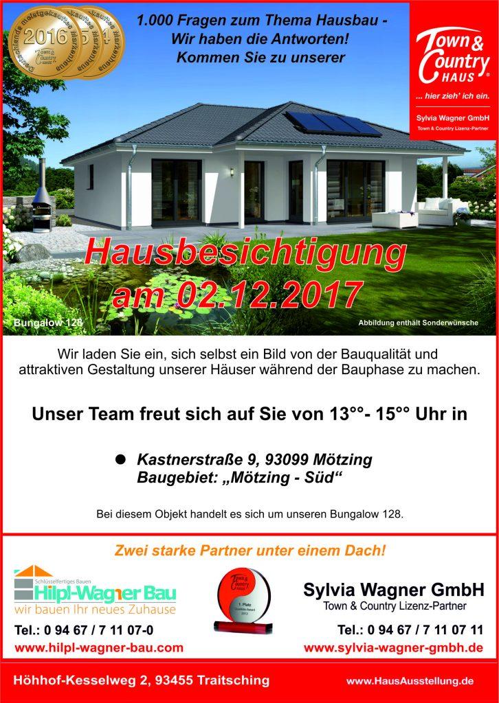 Hausbesichtigung Hilp-Wagner Bau