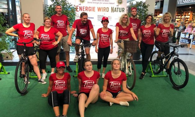 * Spendensprint des TC-Teams für Energie wird Natur*