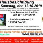 Hausbesichtigung am 12.10.2019 in Teublitz, Ldkr. Schwandorf