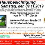 Kommen Sie zur Besichtigung eines Bungalow 110 nach Geiselhöring, Ldkr. Straubing-Bogen