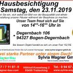 Hausbesichtigung eines Flair 152 RE mit Satteldach im Landkreis Straubing-Bogen, in Degernbach bei Bogen