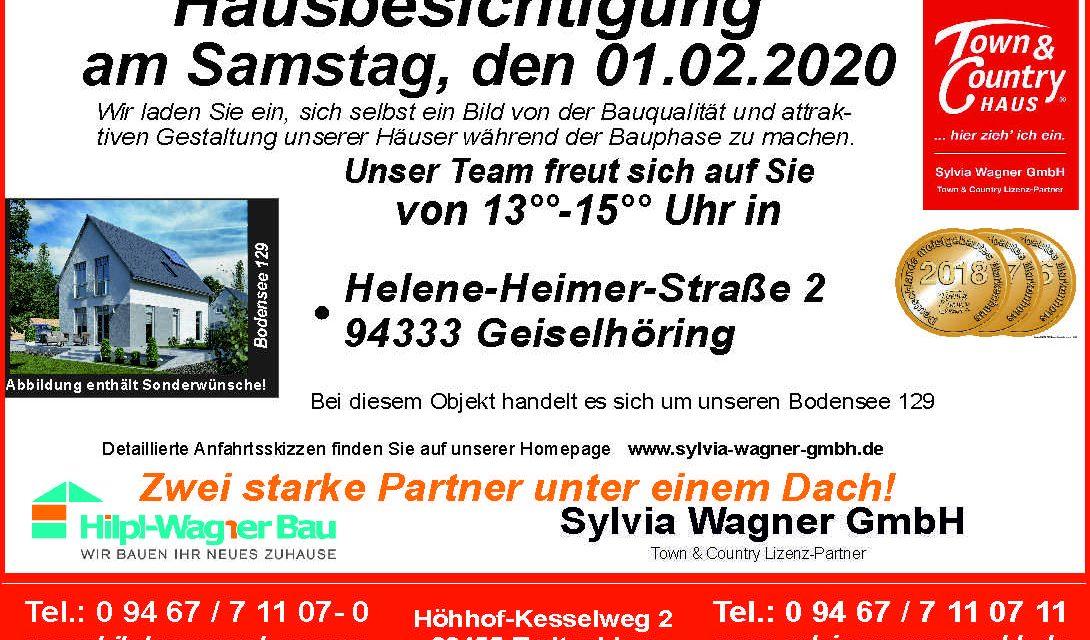 Hausbesichtigung in Geiselhöring am 01.02.2020
