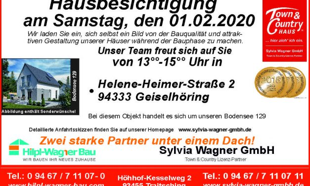 Hausbesichtigung in Geiselhöring am 01.02.2020