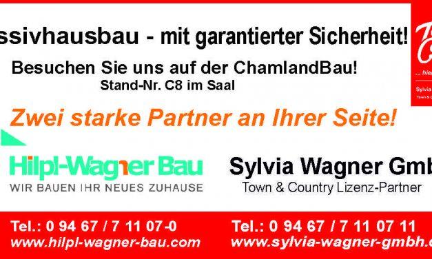 ChamlandBau – die Messe rund ums Bauen in Cham von 15.02. bis 16.02.2020