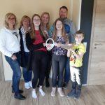 Im Monat März wurde auch in Dingolfing-Landau der Schlüssel für ein Flair 152 RE an die Bauherren-Familie übergeben.