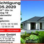 Hausbesichtigung eines Bungalow 128 in Bodenwöhr am Samstag, den 23.05.2020