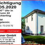 Hausbesichtigung am 24.05.2020 in Schierling; Haustyp: Flair 152