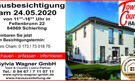 Hausbesichtigung am 24.05.2020 in Schierling; Haustyp: Flair 152