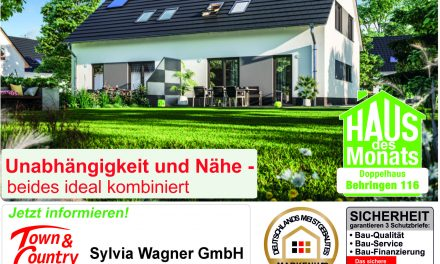 Haus des Monats Mai – Doppelhaus Behringen 116 – Unabhängigkeit und Nähe – beides ideal kombiniert!