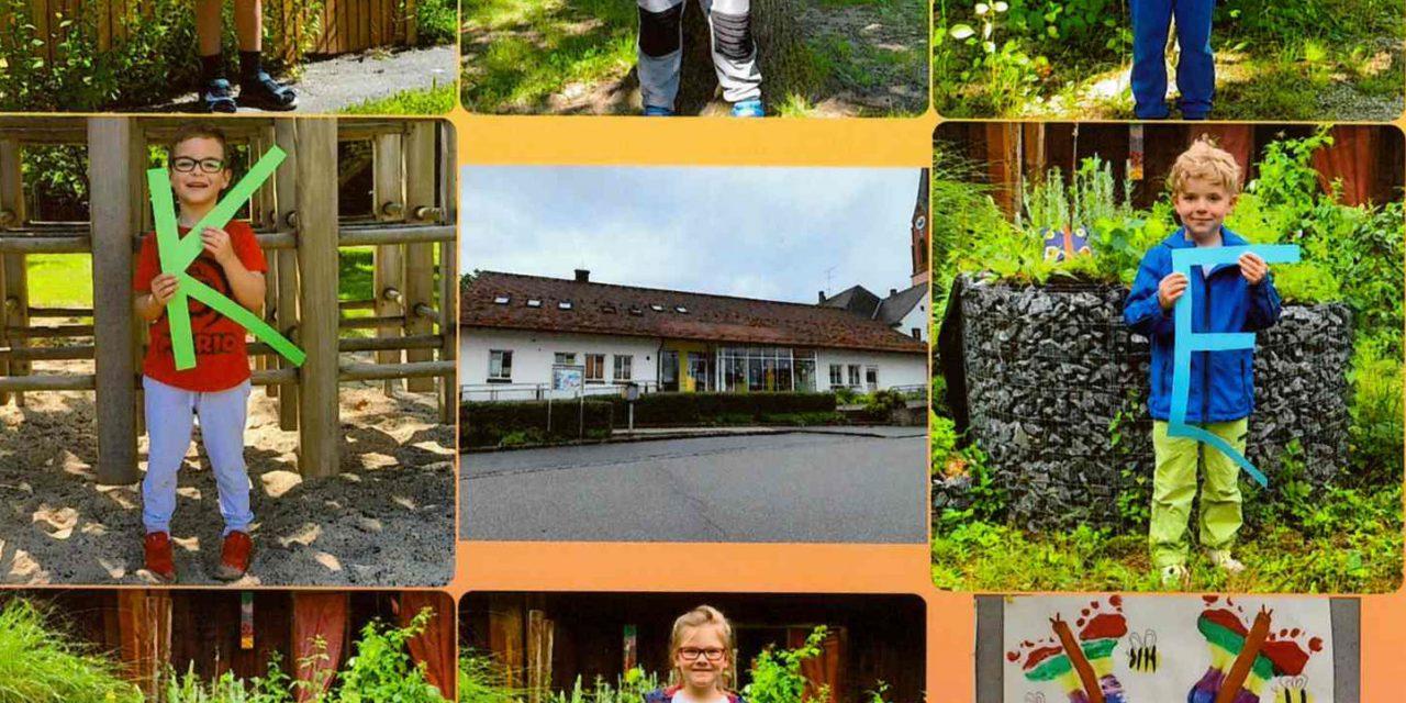 Ein Ergebnis des 8. Stiftungspreises von Town&Country; hier: NektarTankstelle im KiGa Mariä Himmelfahrt in Atting