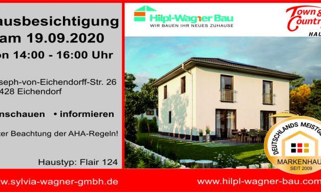 Hausbesichtigung in Eichendorf am Samstag, 19.09.2020