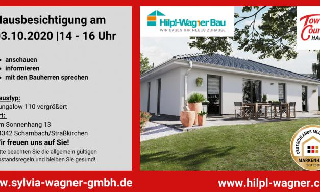 Hausbesichtigung in Straßkirchen – Schambach